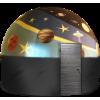 """Комплект """"Сферический Кинотеатр"""" диаметр 5 метров, цветной"""