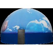 """Комплект """"Сферический Кинотеатр"""" диаметр 10 метров, цветной"""